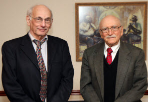 60-year ACS members honored at Recognition Night: Edwin Metzner and Carl Frieden