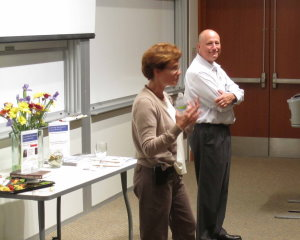 Leadership Development Forum: Cindy Buhse and Daniel Coombes provided personal anecdotes as fodder for a lively discussion